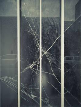 Bars and broken glass