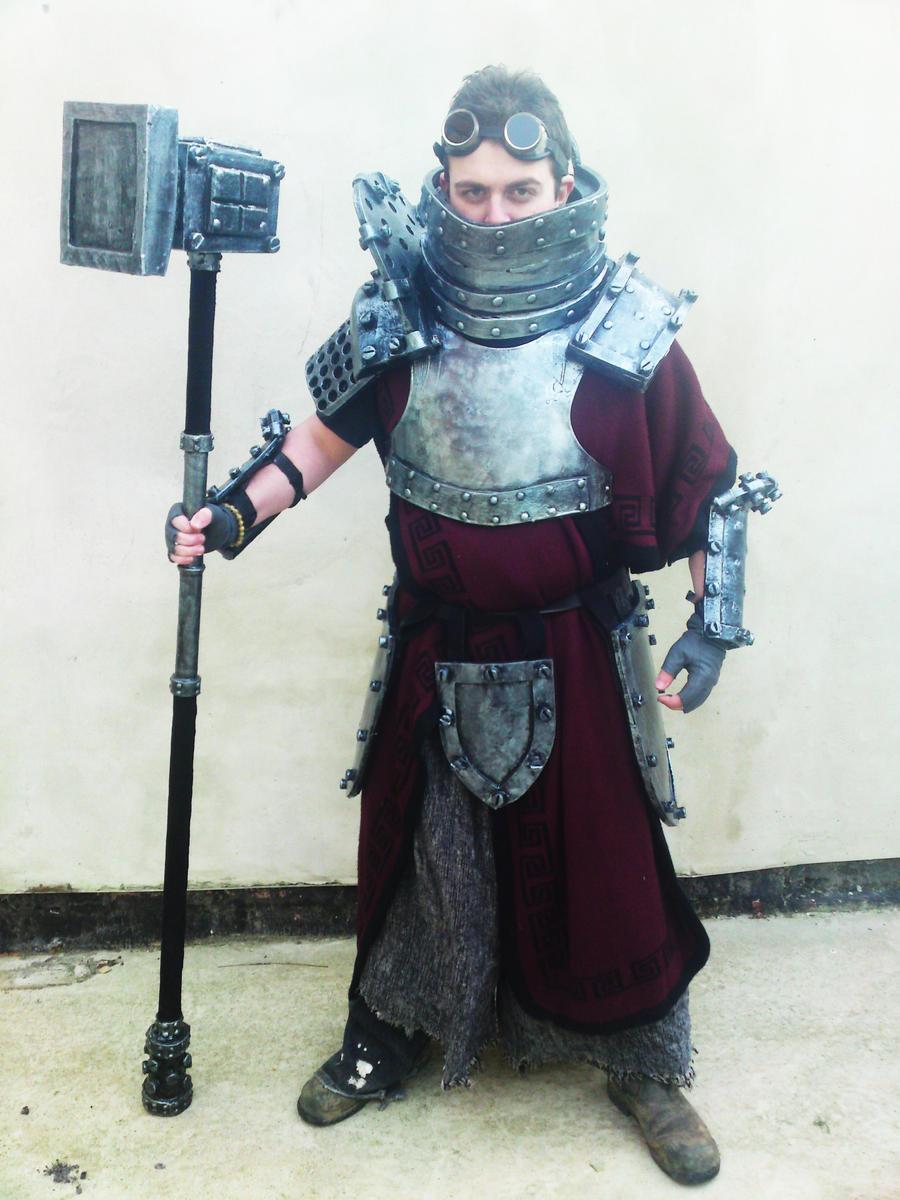 Concept Sigmar armour 5 by JosephharrisFX