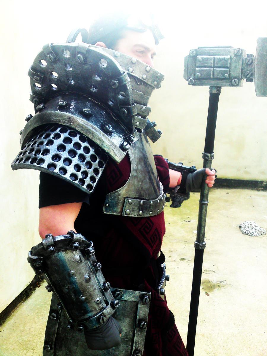 Concept Sigmar armour 7 by JosephharrisFX