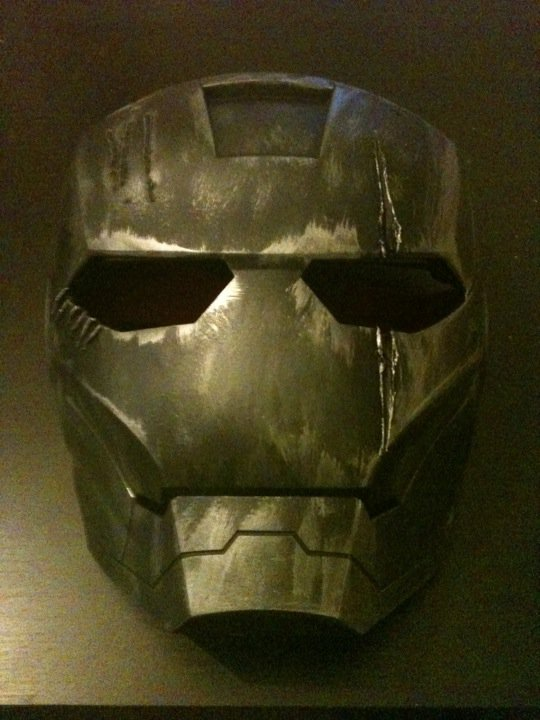 melting iron man mask - photo #27