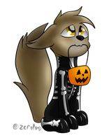Ash Trick or Treat (Halloween Gift) by ZeroponyCreations