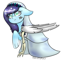 MLP: Corpse Bride Moon by ZeroponyCreations