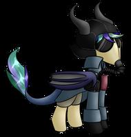 MLP: Death Korps Gobeman (Gift) by ZeroponyCreations
