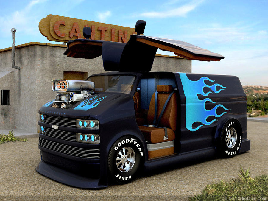 Chevy Astro Conversion Van For Sale Chevrolet Astro Custom by Belpom on DeviantArt