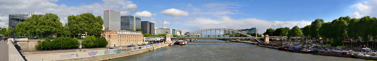 La Seine - 1 by Belpom