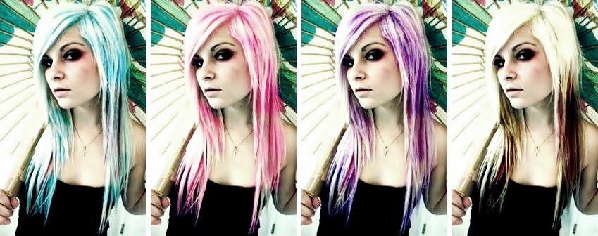 hair rainbow