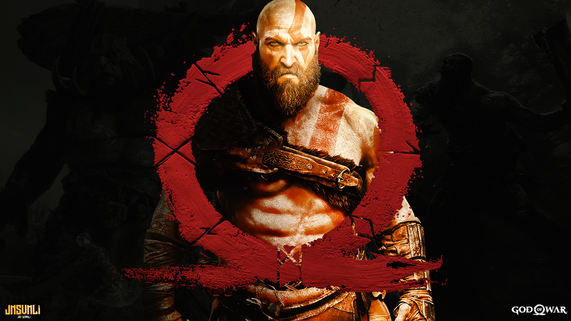 God Of War 4 Wallpaper Jnsvmli By Jnsvmli On Deviantart