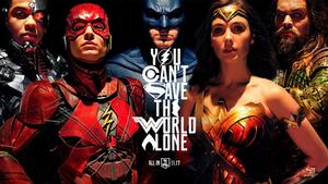 Justice League Poster - Wallpaper v2 4K