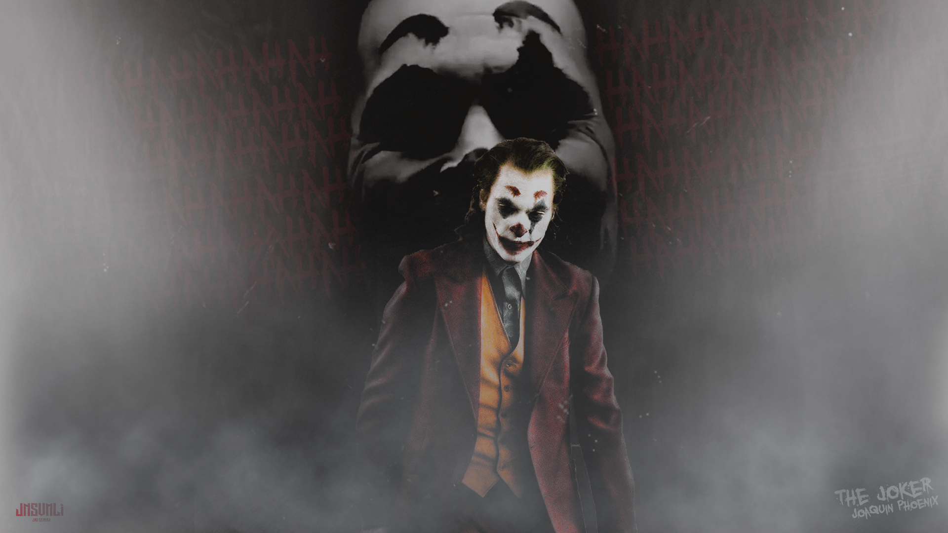 The Joker Joaquin Phoenix Wallpaper Jnsvmli By Jnsvmli