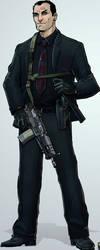 IC: Major Tom Carter aka Kane by SNEEDHAM507