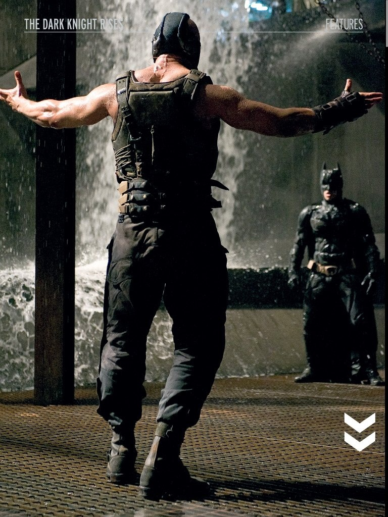 Dark Knight Rises: Bane and Batman by SNEEDHAM507