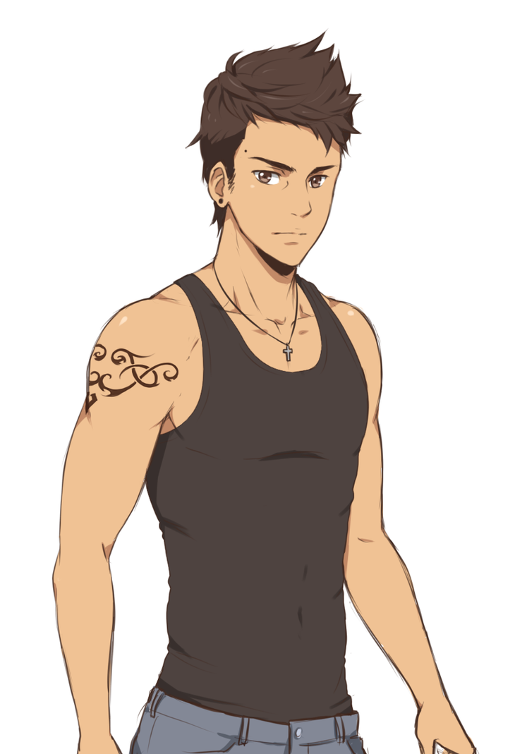 Ramon Nadez Tank Top By Sneedham507 On Deviantart
