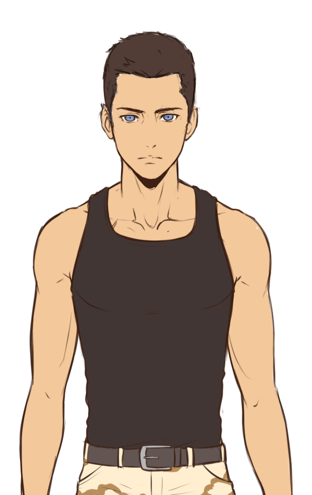 Drawing Anime Tank Top Related Keywords Suggestions Drawing