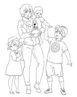 ICNG: Titus's Family by SNEEDHAM507