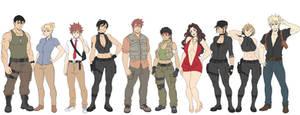 Ignition Crisis: Cast so far