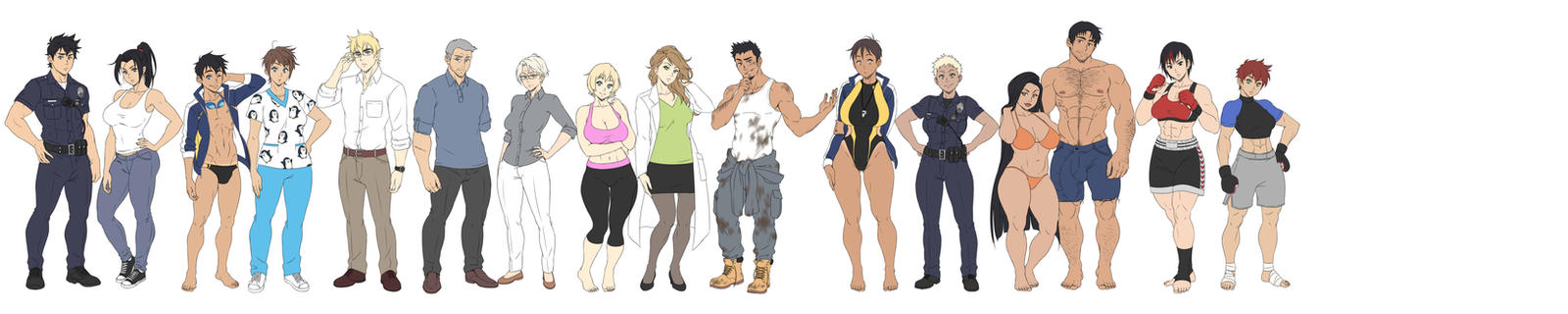 ICNG: The cast so far by SNEEDHAM507