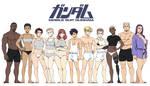 Gundam Project: Cast so far