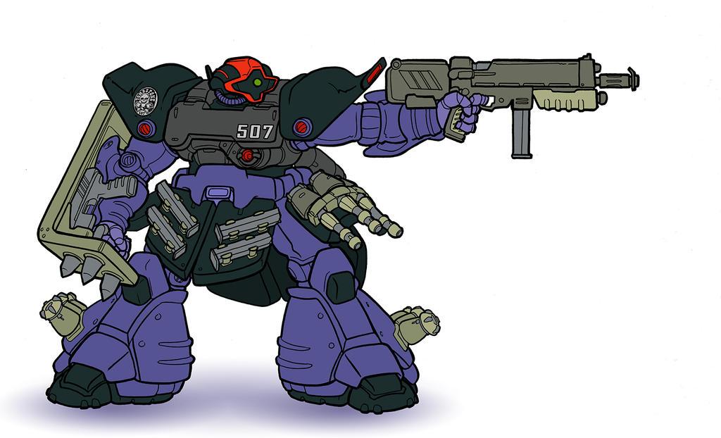 Gundam Project: Dom Zwei by SNEEDHAM507