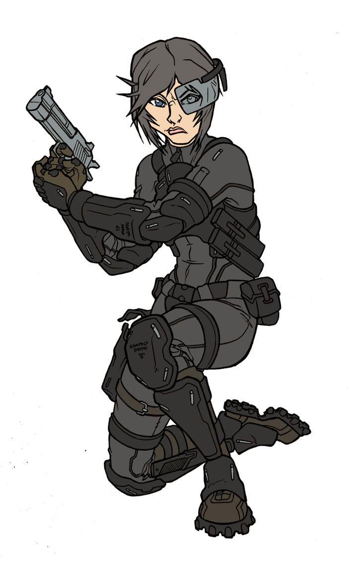 ICNG: Special forces Vanessa Hawke by SNEEDHAM507