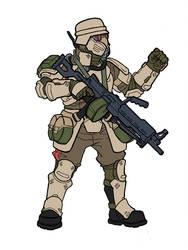 GA: Five Pillars shock Trooper by SNEEDHAM507