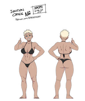 ICNG REWORKED PROFILE: Naomi Anderson