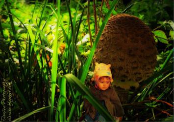 Ali and the mushroom by elenissa