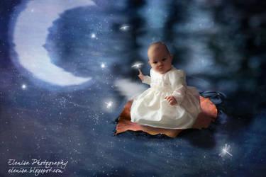 Au clair de la lune/ By the light of the moon by elenissa
