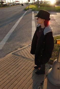 Polly on a Street Corner.