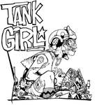 Tank Girl- Complete lineart