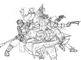Heroes of Diablo3 by Templerlord