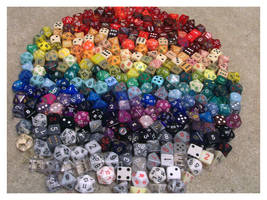 Dice Collection by No-Teeth-Required