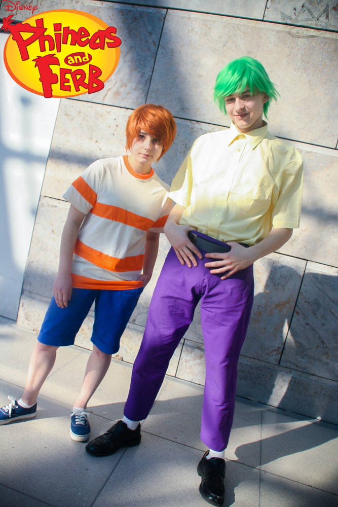 Phineas and ferb cosplay
