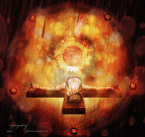 Red Rain Hell by zerogalaxy