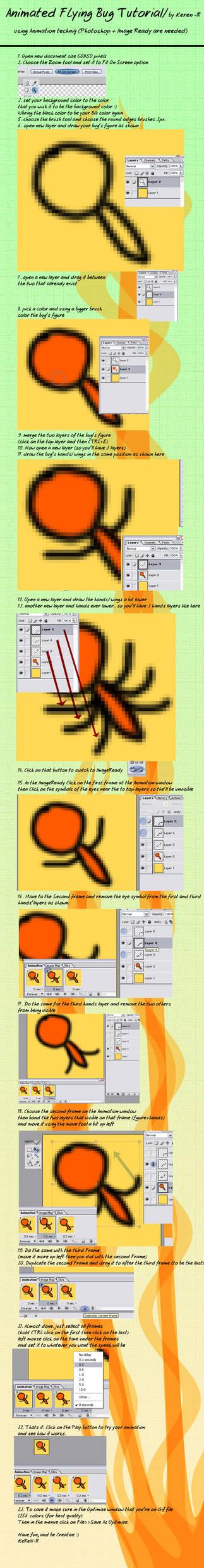 Animated Flying bug Tutorial