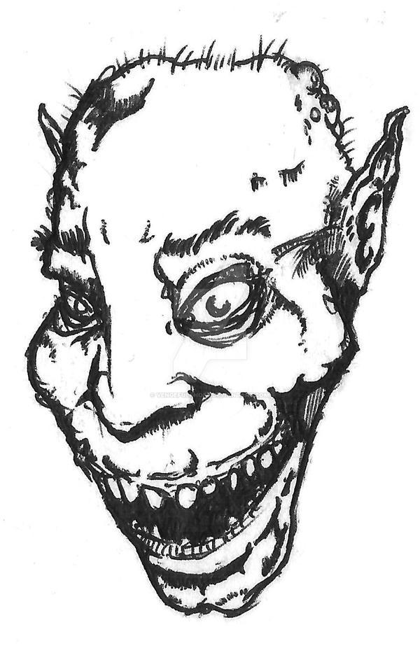 Crazyface by vengefulghost