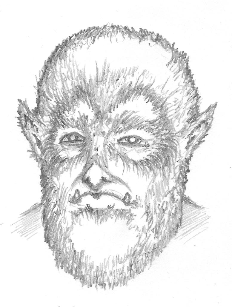 Wolfman by vengefulghost