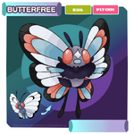 [Pokemon Alexandrite] #065 Butterfree