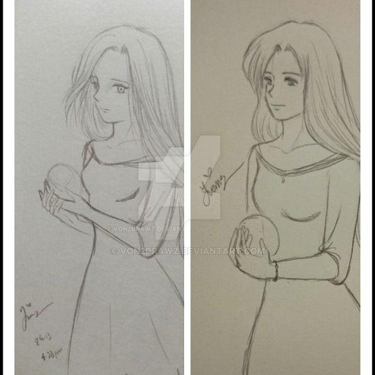 Draw me again - Crystal by von2drawz