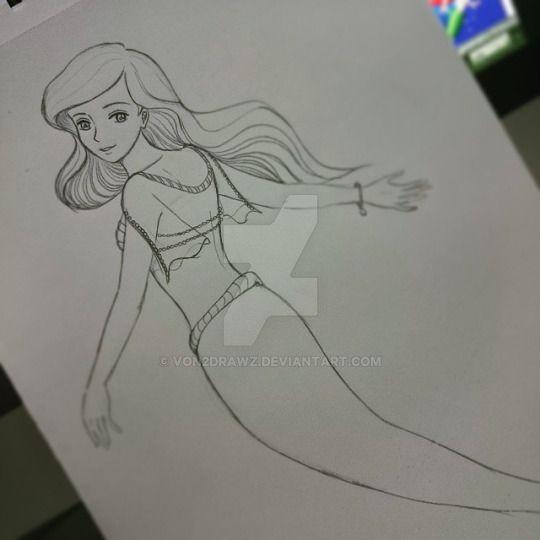 Fanart - Ariel by von2drawz