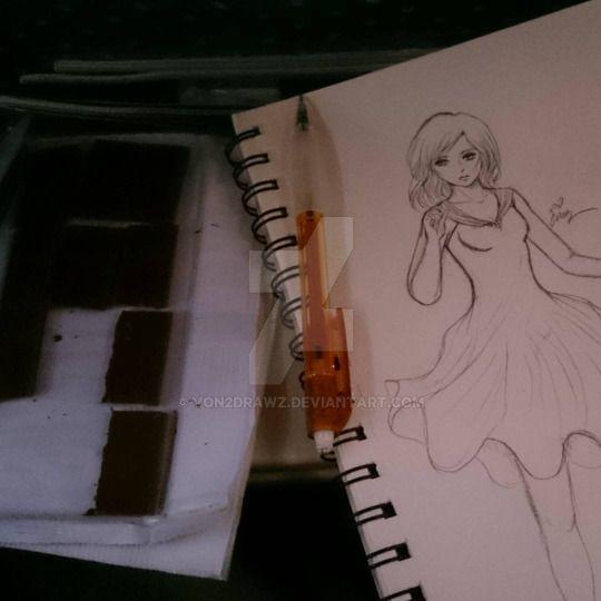 Doodling on the Plane by von2drawz