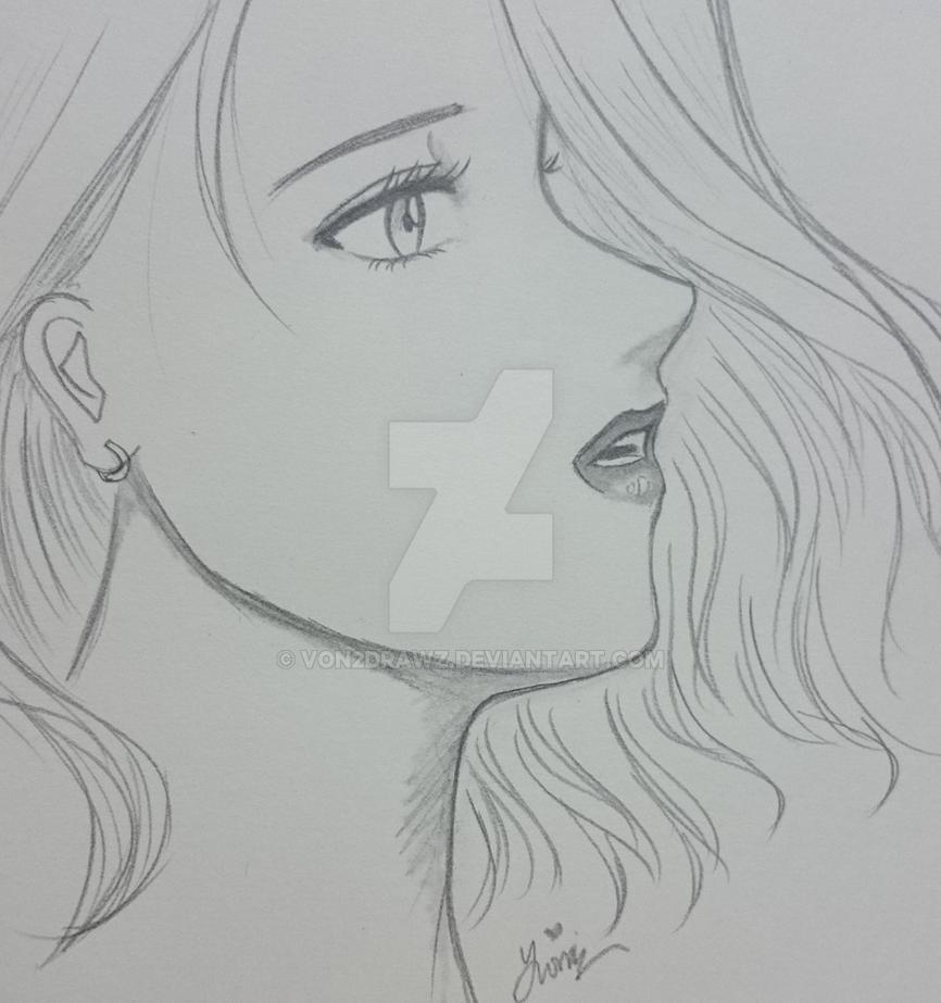 What did she see... by von2drawz