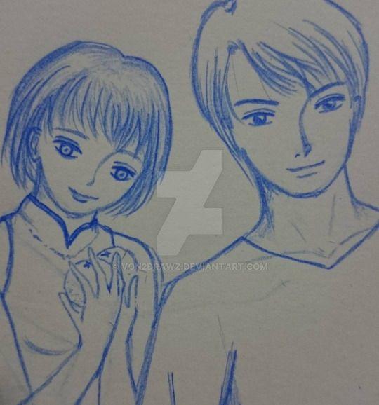 Couple by von2drawz