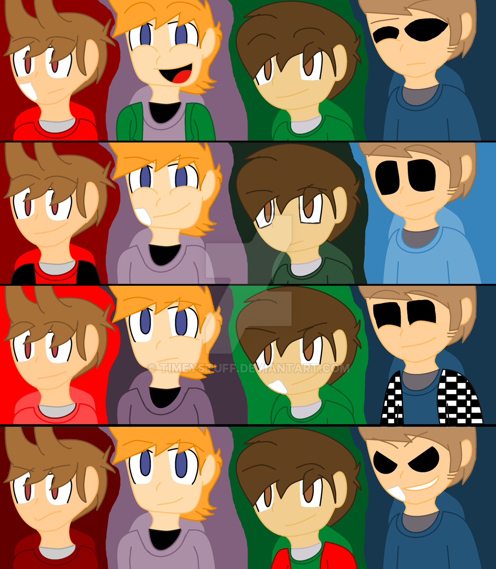 Minty Green Eddsworld Every Single Au Except Tordsworld 1 By