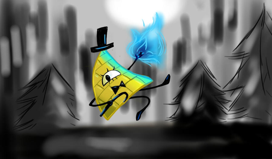 hello, my name is bill cipher  by MidnightDeadMaster