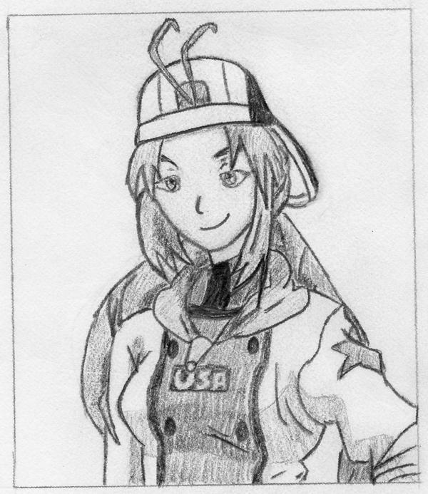Monica Adenauer Sketch by Bamzu