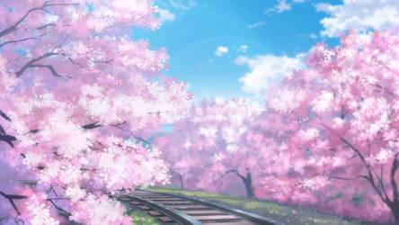 Fox Spirit Matchmaker Episode 92 Sakura trees by 8FreeDoMirAi8