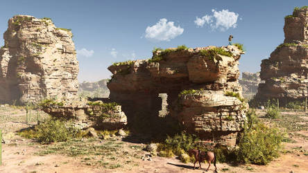 Old wild west -1- by rraffy