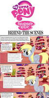 my little pony behind the scenes with derpy part 1