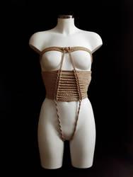Wedding Dress Rope Corset