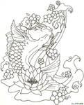 Tattoo Art Koi Fish